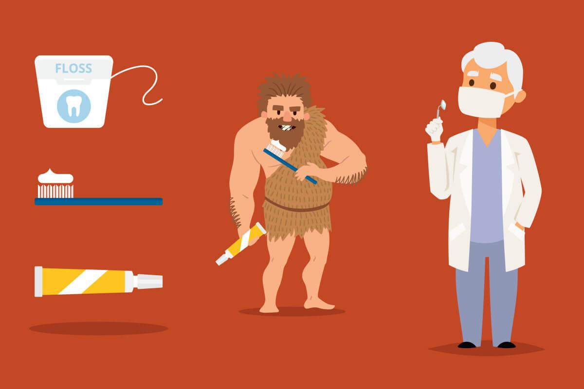 Die Geschichte der Zahnpasta